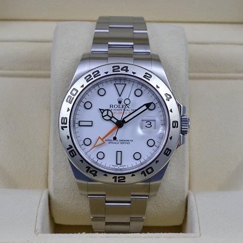 Rolex Explorer II 216570 White - 2014 Box & Papers