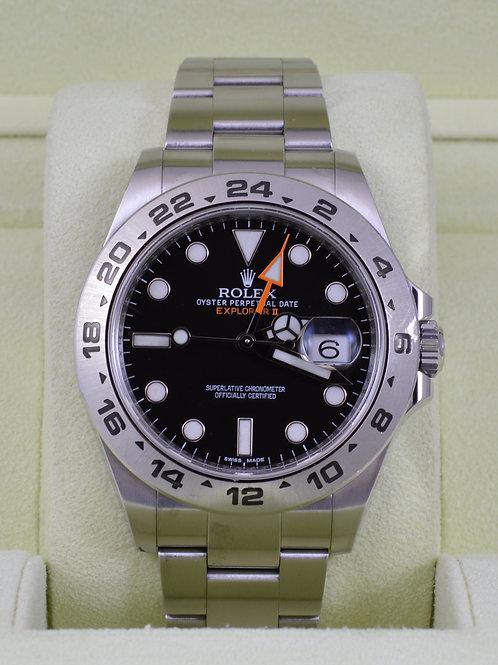 Rolex Explorer II 216570 Black Dial 42mm