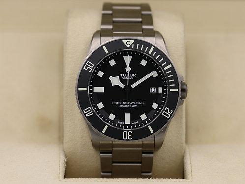 Tudor Pelagos 25500TN Black Dial ETA Titanium - Box & Papers