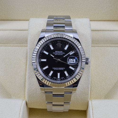 Rolex DateJust II 116334 Black Dial - 2015 Box & Papers