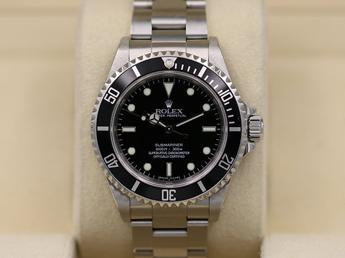 Rolex Submariner No Date 14060M - Z Serial 4 Liner - Box & Papers