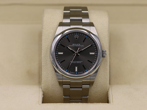 Rolex Oyster Perpetual 114300 Rhodium Dial 39mm - Box & Papers