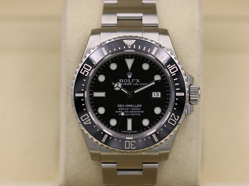 Rolex Sea-Dweller 116600 SD4K Ceramic Discontinued - NOS 2017 Box & Papers