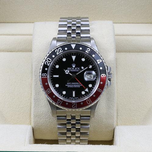 """Rolex GMT Master II 16760 """"Fat Lady"""" Coke Insert"""