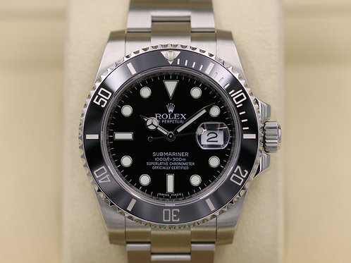 Rolex Submariner Date 116610LN Ceramic Stainless Steel - 2017 Box & Papers