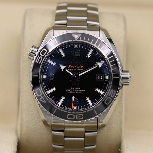 Omega Seamaster Planet Ocean 600m Black Dial 43.5mm - Box & Papers