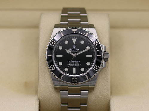 Rolex Submariner No Date 114060 Stainless - 2019 Box & Papers