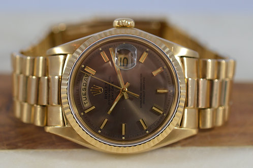 "Rolex Day-Date ""President"" 1803 18K"