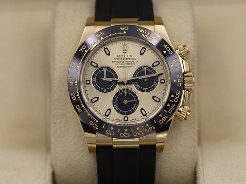 Rolex Cosmograph Daytona 116518 Yellow Gold Oysterflex - 2018 Box & Papers