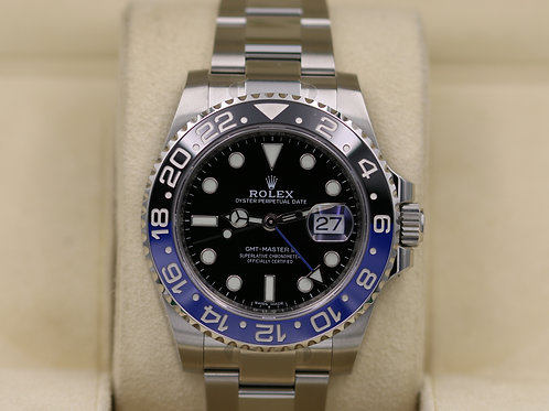 "Rolex GMT-Master II 116710BLNR ""Batman"" Ceramic - 2018 Box & Papers!"