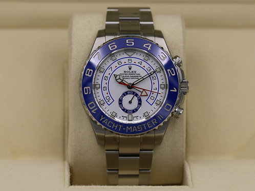 Rolex Yachtmaster II 116680 Stainless New Dial/Hands - 2019 Box & Papers