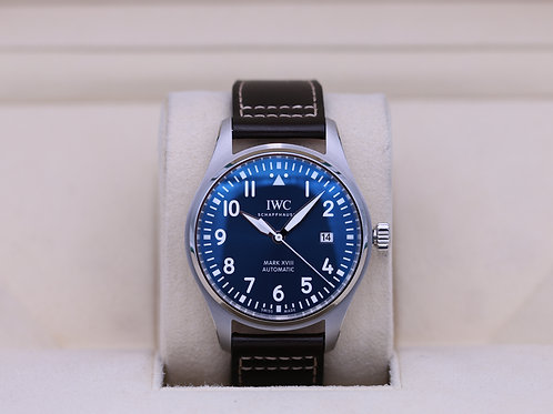 IWC Pilot's Watch Le Petit Prince Blue Dial IW327010 - 2019 Box & Papers