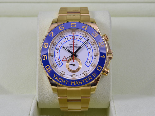 Rolex Yacht-Master II 116688 18K Gold - 2014 Box & Papers!