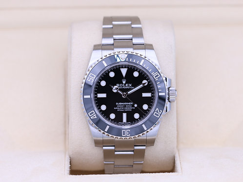 Rolex Submariner No Date 114060 Stainless - 2017 Box & Papers
