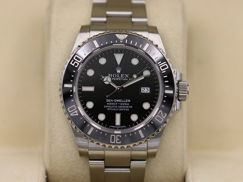 Rolex Sea-Dweller 116600 SD4K Ceramic 40mm - Discontinued - Box & Papers!