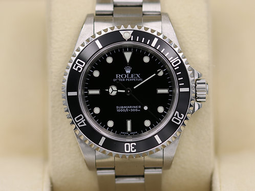 Rolex Submariner No Date 14060M - K Serial 2 Liner - Box & Papers