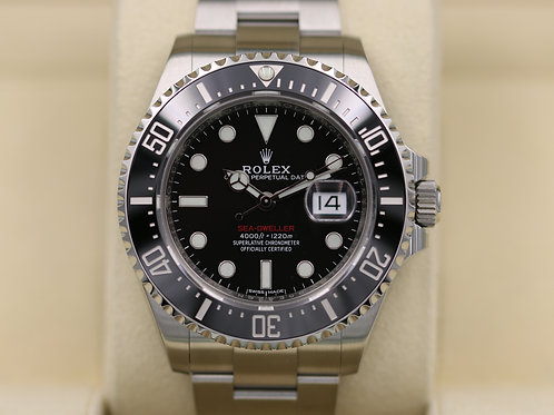 Rolex Sea-Dweller 126600 SD43 Red 50th Anniversary 43mm - 2018 Box & Papers!