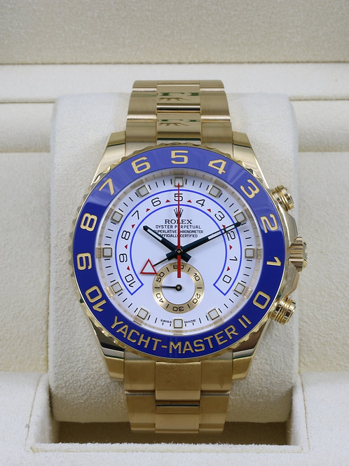 Rolex Yacht-Master II 116688 18K Yellow Gold - Box & Papers