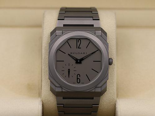 Bvlgari Octo Finissimo Automatic Titanium 102713 - 2017 Box & Papers