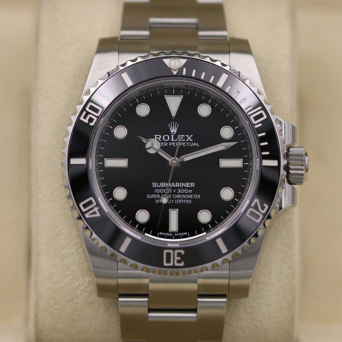 Rolex Submariner No Date 114060 Stainless - 2019 Unworn