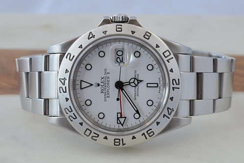 Rolex Explorer II 16570 W/ 3186 Movement