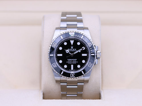Rolex Submariner No Date 114060 Stainless - 2018 Box & Papers