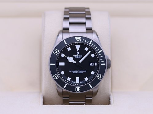 Tudor Pelagos 25500TN Black Dial ETA Titanium - Box & Papers