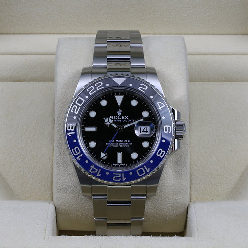 Rolex GMT Master II 116710BLNR - Box & Papers