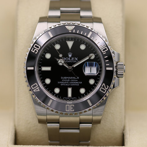 Rolex Submariner Date 116610LN Black Dial - 2016 Box & Papers