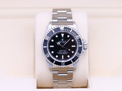 Rolex Submariner No Date 14060M - M Serial 4 Liner - Box and Papers