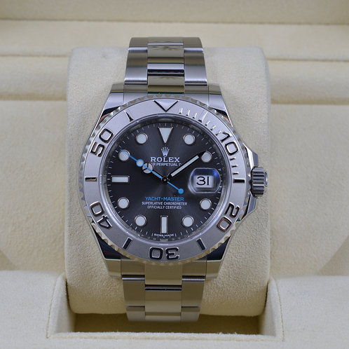 Rolex Yacht-Master 116622 Rhodium Dial - 2016 Box & Papers
