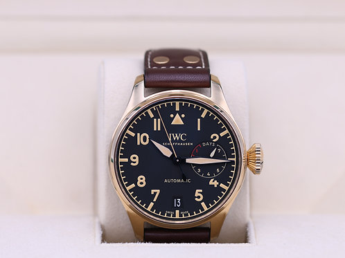 IWC Big Pilot Bronze IW501005 Limited Edition - 2020 Box & Papers