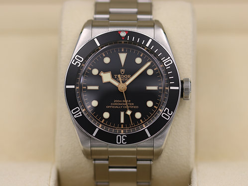 Tudor Heritage Black Bay Black 79230N In-House Movement - 2016 Box & Papers!