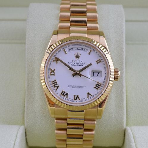 Rolex Day-Date 118238 18K Gold