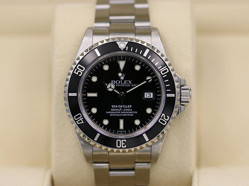 Rolex Sea-Dweller 16600 Stainless Steel - A Serial Holes Case - Box & Papers