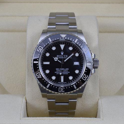 Rolex Sea-Dweller 116600 Ceramic - 2014 Box & Papers