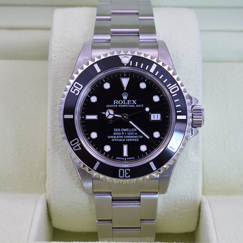 Rolex Sea-Dweller 16600 F Serial - New Old Stock - Box & Papers