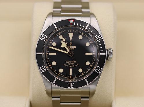 Tudor Heritage Black Bay Black 79220N Bracelet ETA Rose Dial - 2016 Box & Papers