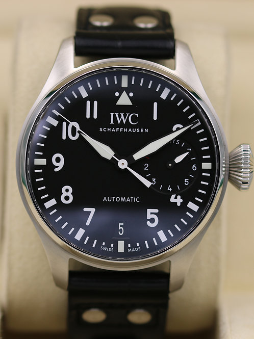 IWC Big Pilot IW5009-12 Black Dial 7 Days - 2017 Box & Papers