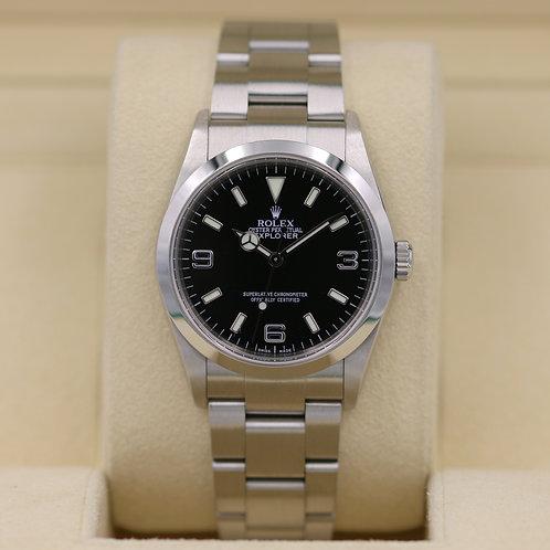Rolex Explorer I 114270 - F Serial - Box & Papers