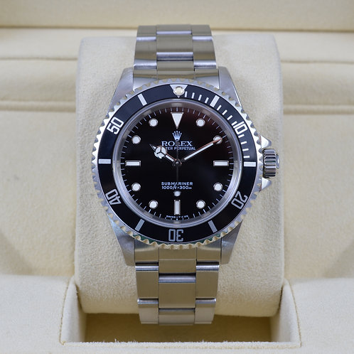 Rolex Submariner No Date 14060 - S Serial