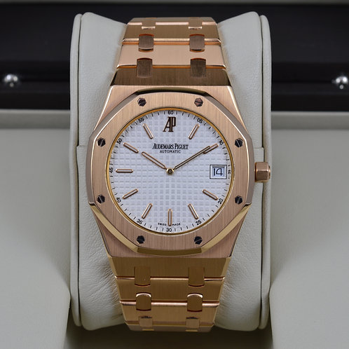 Audemars Piguet 15202OR Royal Oak Rose Gold - Box & Papers