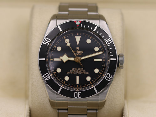Tudor Heritage Black Bay Black 79230N In House Movement - 2018 Box & Papers