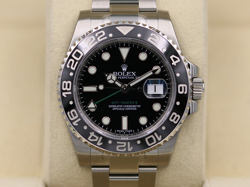 Rolex GMT Master II 116710LN Black Ceramic - Brand New