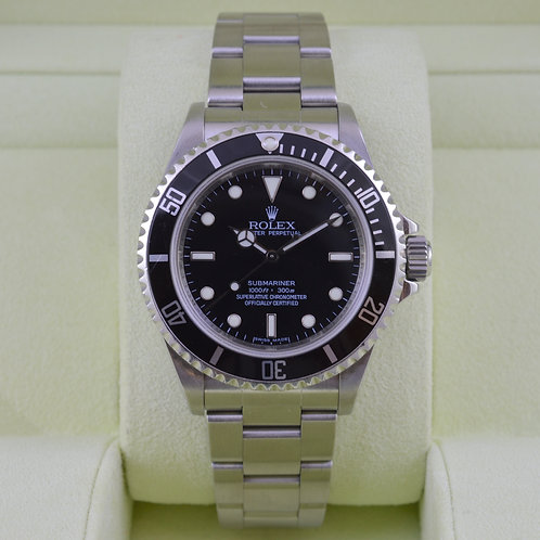 Rolex Submariner No Date 14060 4 Liner - Box & Papers