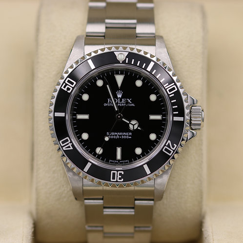 Rolex Submariner No Date 14060M - D Serial 2 Liner - Box and Papers