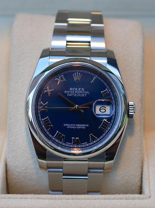 NEW Rolex DateJust 116200 36mm