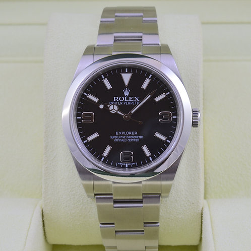 Rolex Explorer I 214270 39mm - Box and Papers