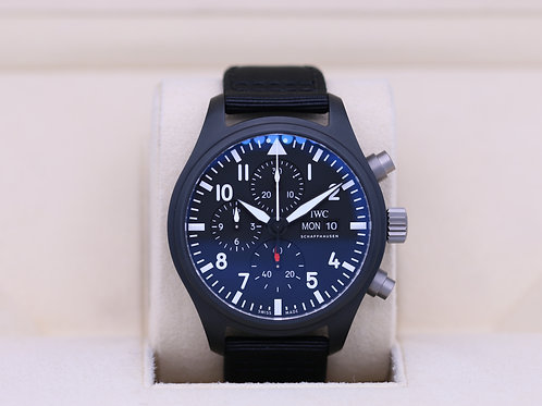 IWC Pilot's Watch Chronograph Top Gun IW389101 - 2020 Box & Papers