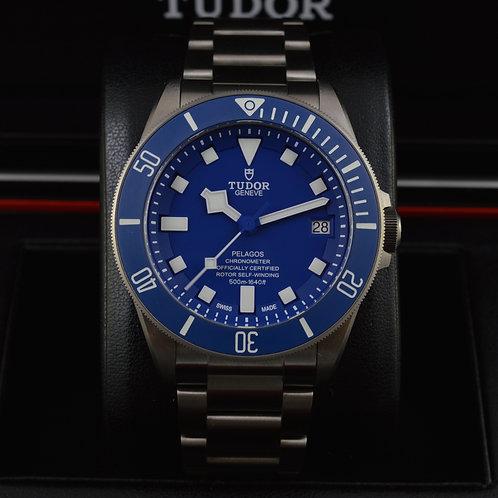 Tudor Pelagos 25600TB Blue - NEW 2016